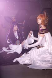 Sakura and Tomoyo