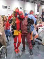 Lady Deadpool and Deadpool (Or Star-Pool?)