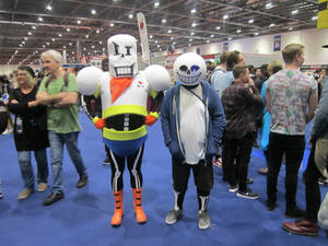Sans and Papyrus Costumes