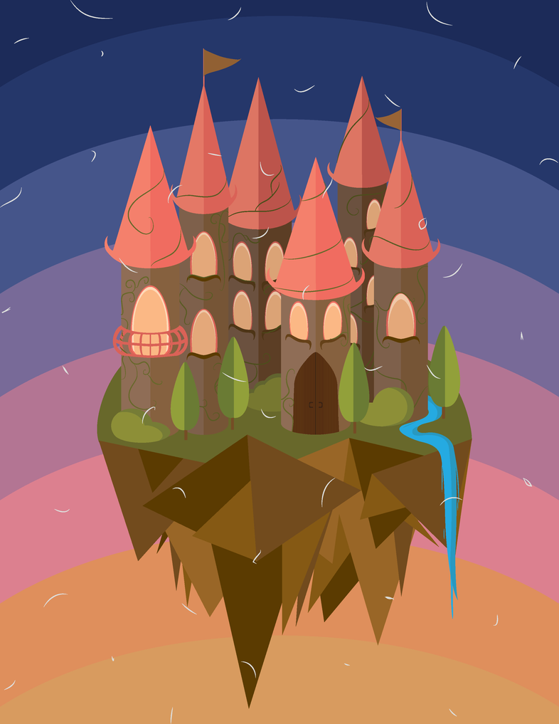 Floating Castle by MissingPie