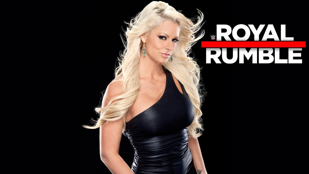WWE Royal Rumble 2017 Wallpaper With Maryse. By Alexc0bra