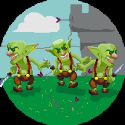 20/365 challenge - Goblins Clash Royale by Diggo-Kun