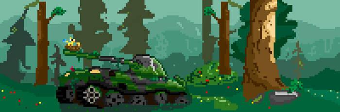 23/365 challenge - Tank by Diggo-Kun
