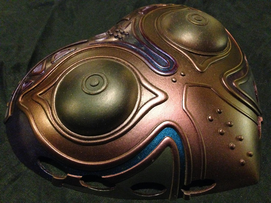 Majora's Mask Paint Progress by ClothBender