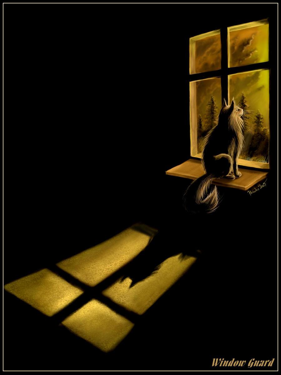 Window Guard by Emberiza