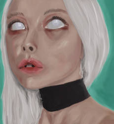First ever color by eye in Krita
