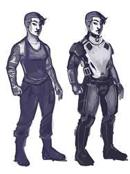 Friday Armor Concept by mulattaFURY