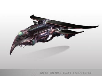 Vulture Starfighter by mulattaFURY
