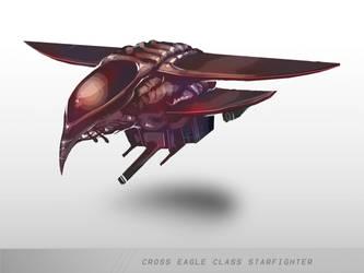 Eagle Starfighter by mulattaFURY