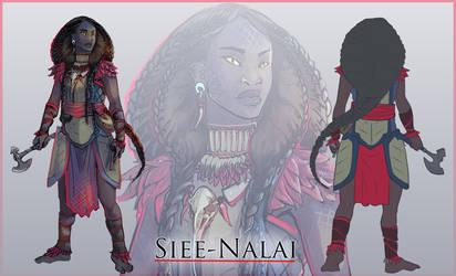 Character Reference - Nalai by mulattaFURY