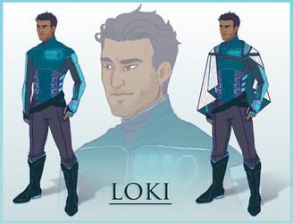 Loki Commission by mulattaFURY