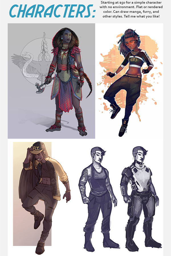 Commission3 by mulattaFURY