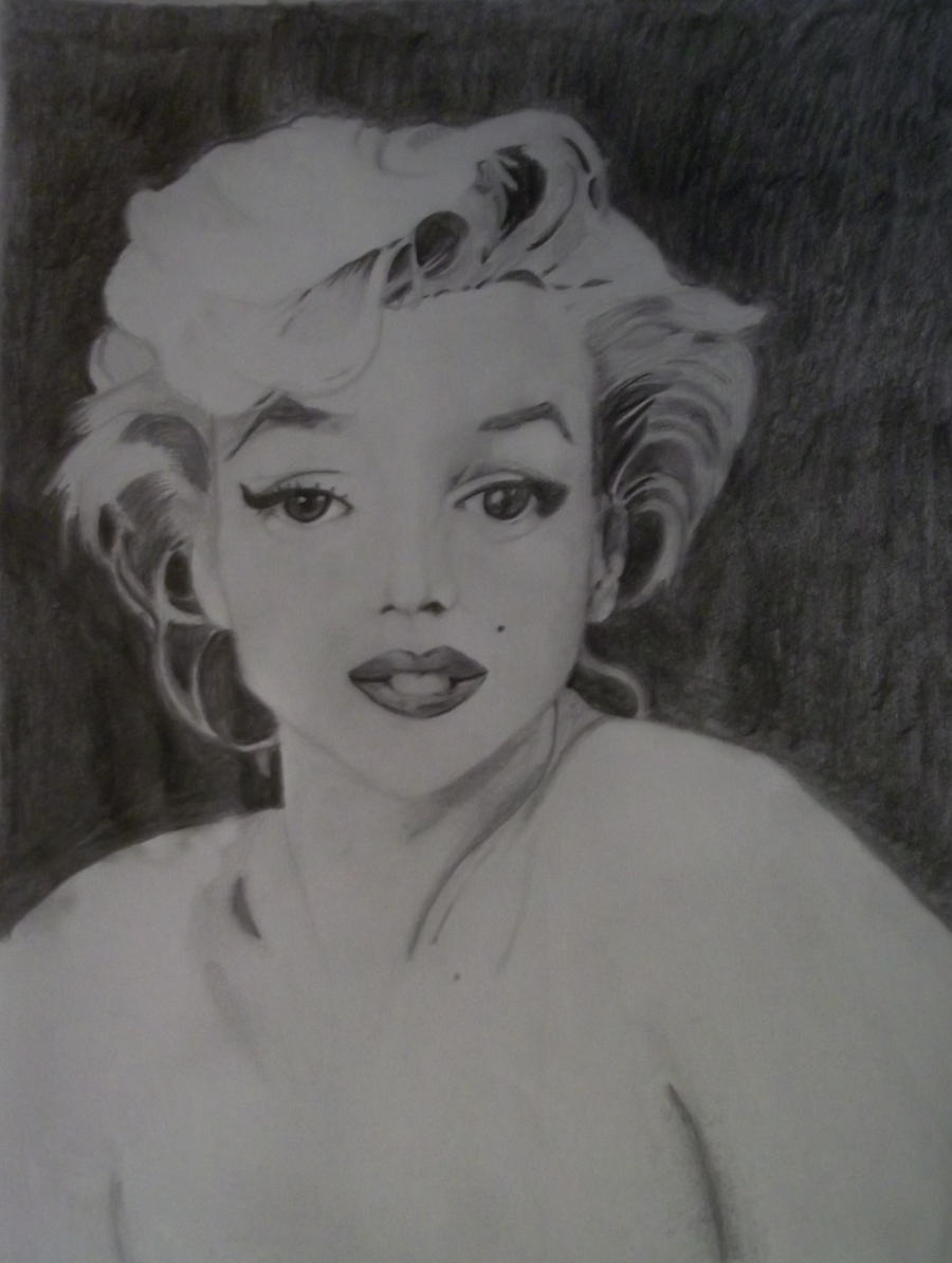 Marilyn Monroe by LaPastillaAzul on DeviantArt