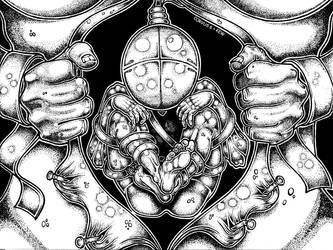 Dead Inside by Corvus6Designs