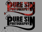 Pure Sin Photography Logo