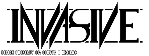 Invasive Base Logo Sample by Corvus6Designs