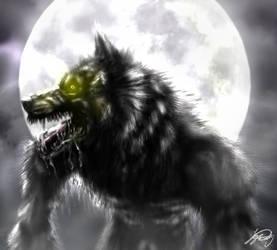 Werewolf Moon by VorpalBeasta
