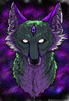 Outer Dimensional Canine by VorpalBeasta
