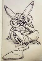 Pikachu's Holiday Season Bod by VorpalBeasta