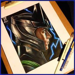 Loki Laufeyson by Tabitha138