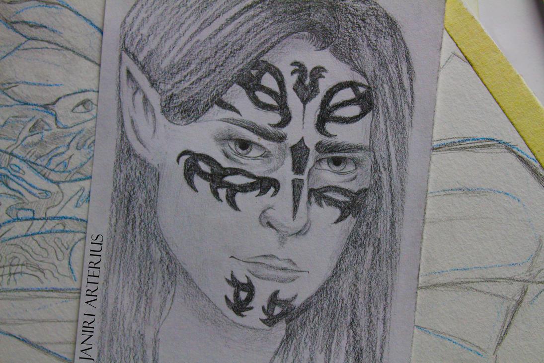 Lyari Mahariel by visovrt