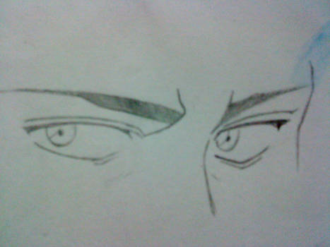 Guy anime eyes