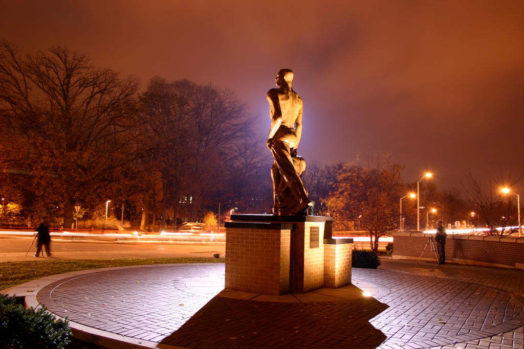 The Spartan at Night