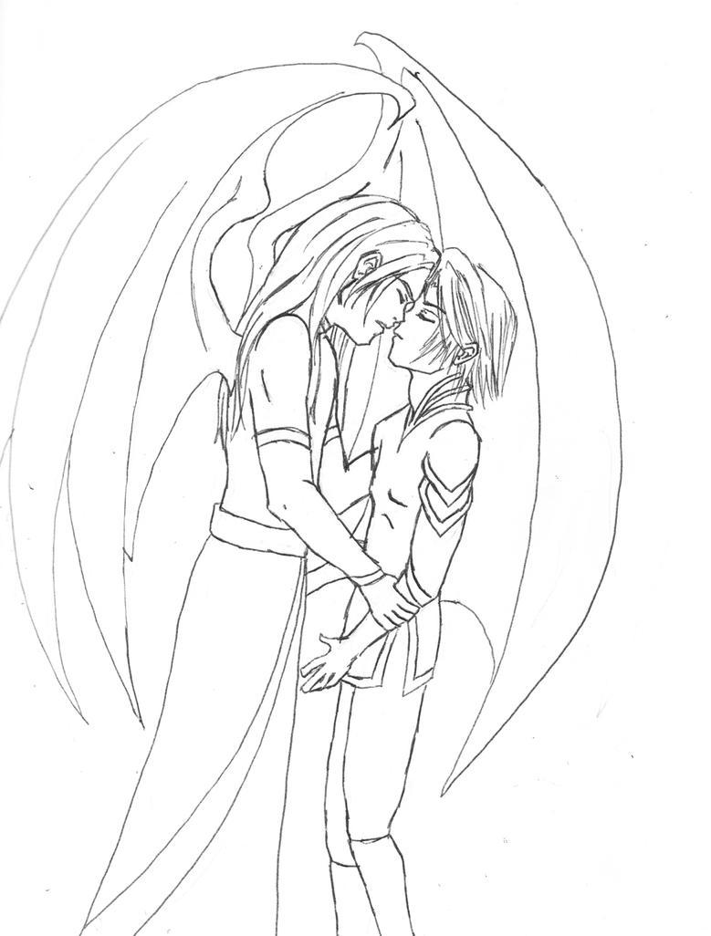 Eilzair and Iseth yaoiwarning by Kysis
