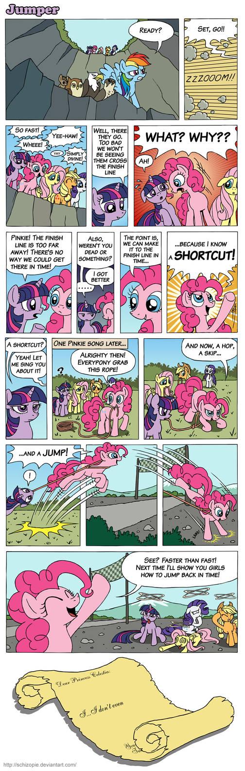 Jumper by SchizoPie