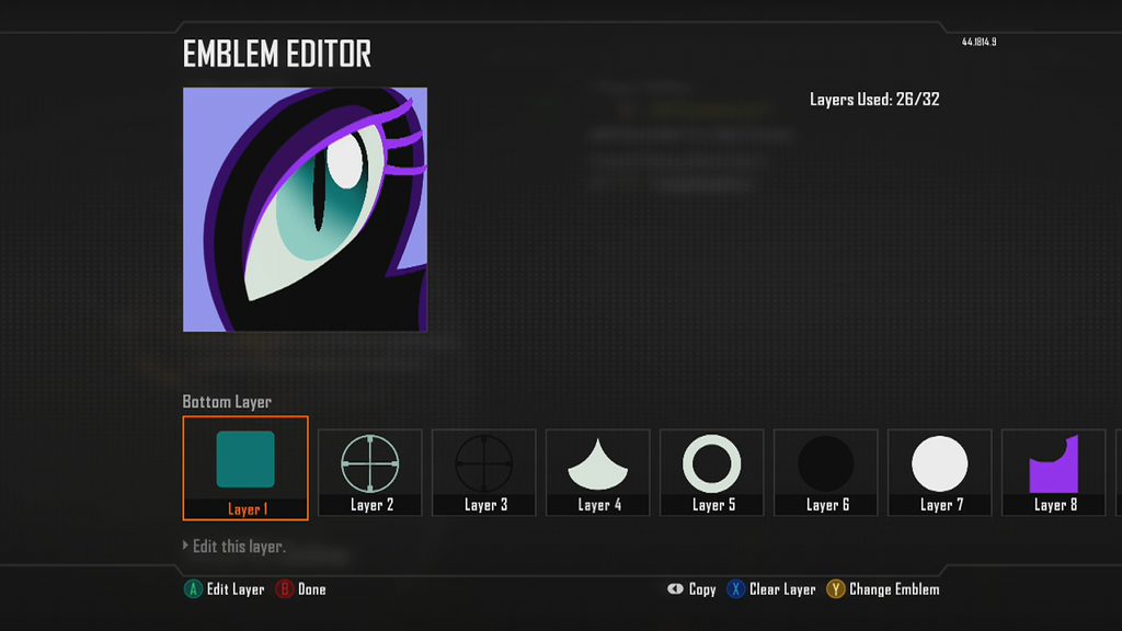 cod black ops 2 pony emblem nightmare moon by