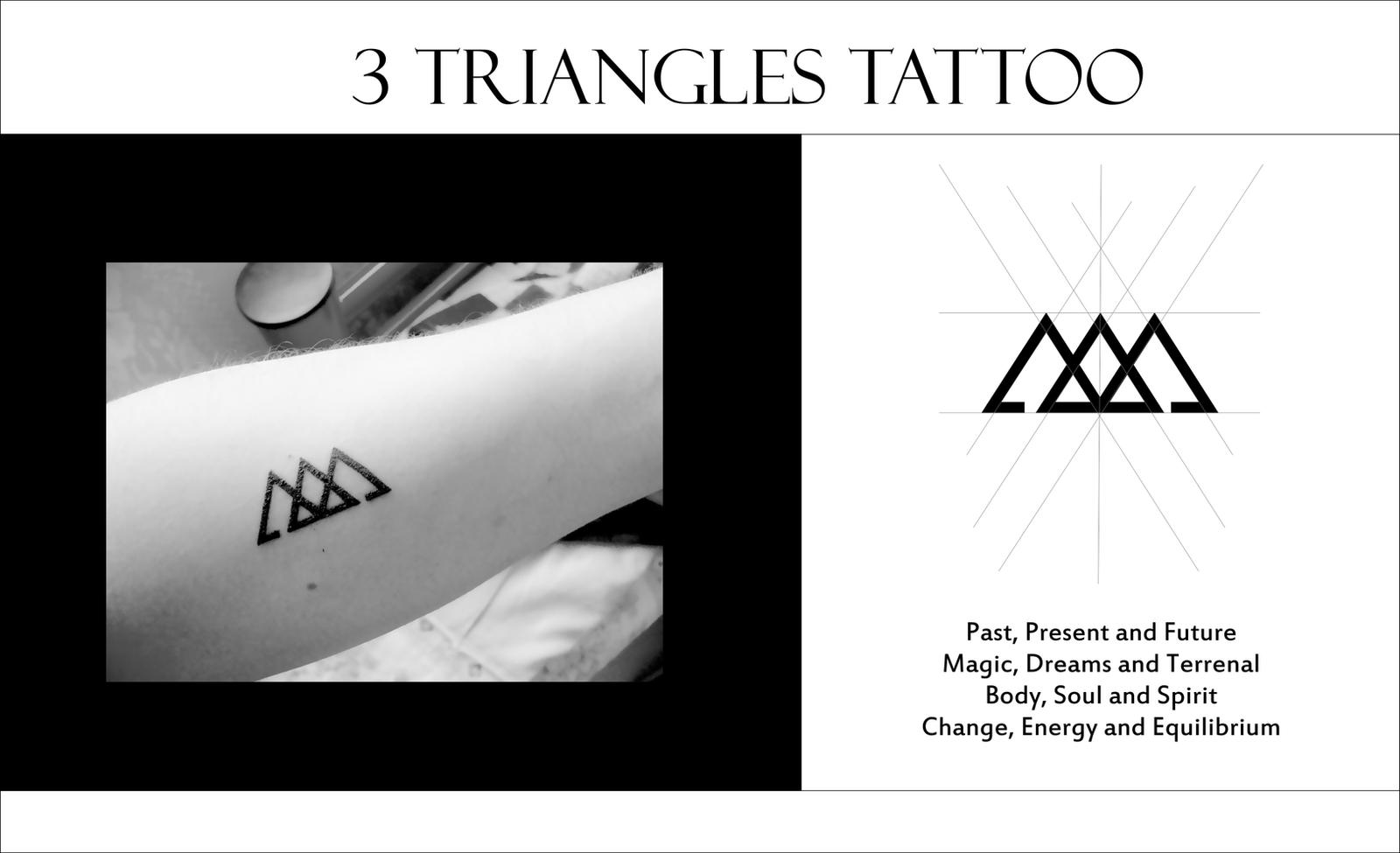 Triangles tattoo by amadis33 on deviantart for Minimal art betekenis