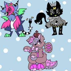NAME YOUR PRICE ADOPTS (minimum 5$ each) by cinnapepper