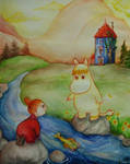 Moomin: Playing by the river