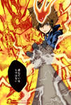 kh reborn : tsuna flames