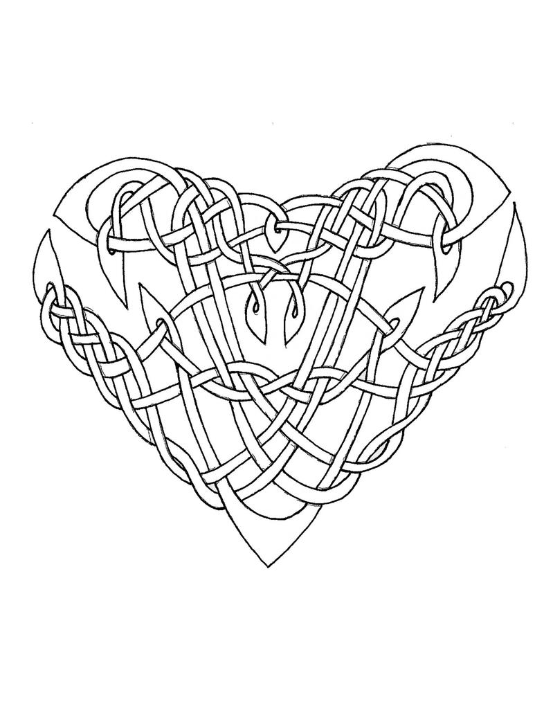 Celtic Knot Coloring Pages For Adults Coloring Pages Celtic Coloring Pages