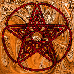 Simple Pentacle I by Artistfire