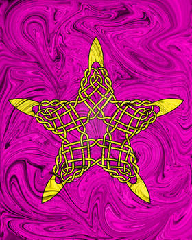 TRP#81 - Celtic Five Pointed Star #1