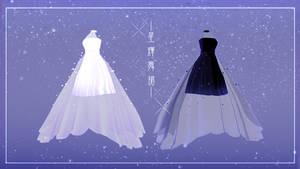 DL-MMD Outfit-Stardust Dance Dress