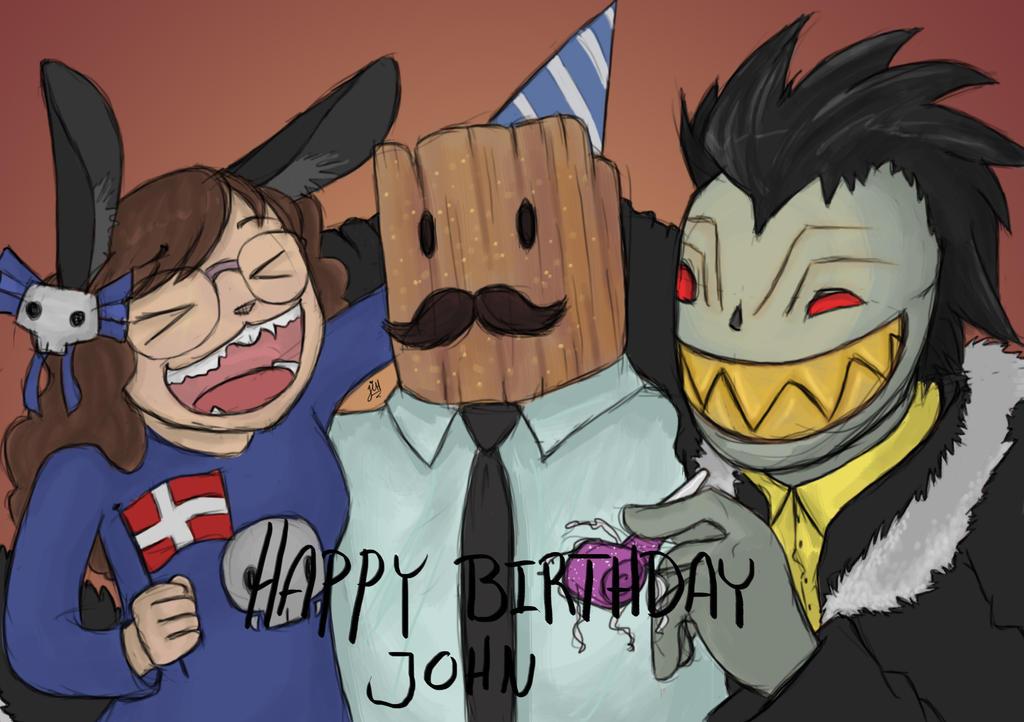Happy Birthday John by BlackNinjaTwin