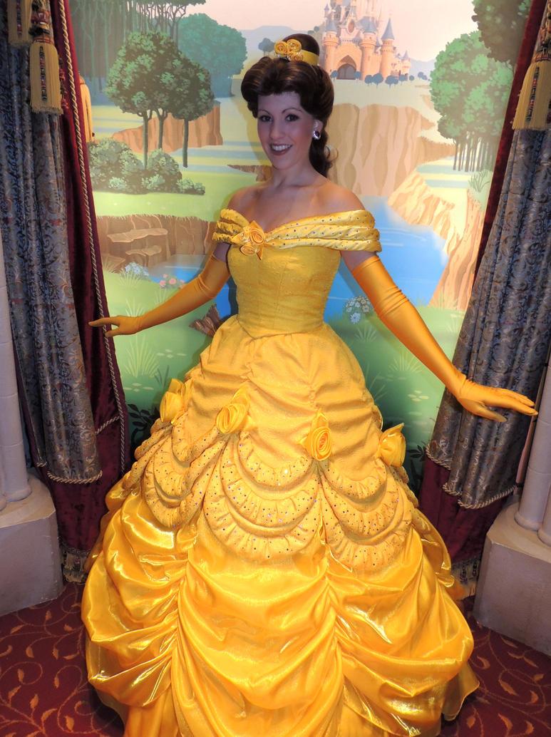 Disney princess belle dress for