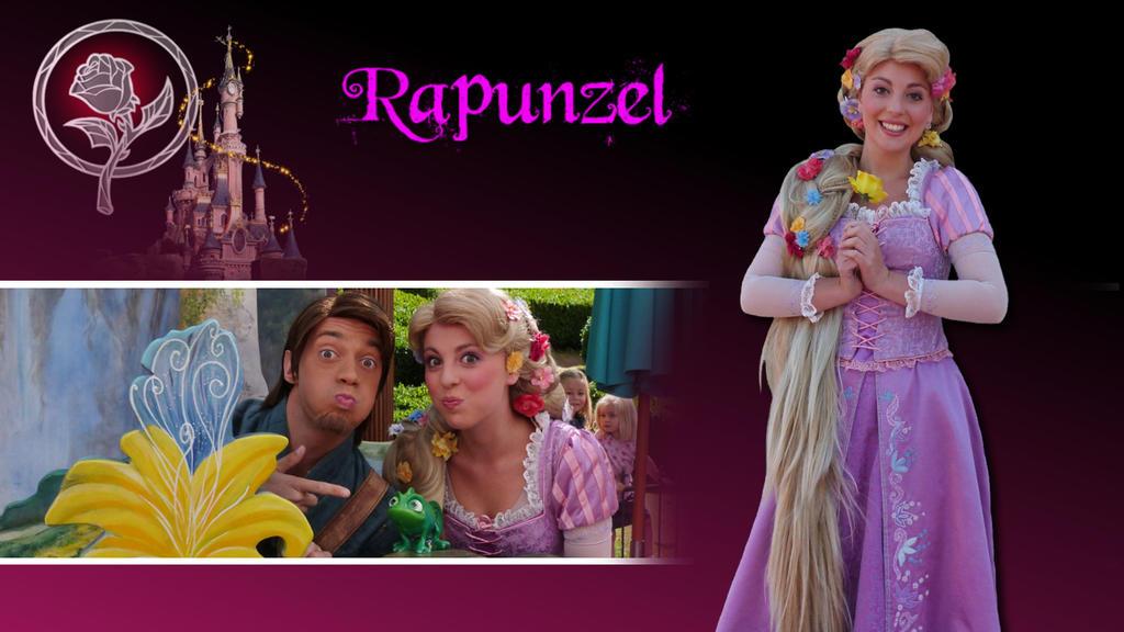 Disney Revisite 002 - Rapunzel by bellesprince