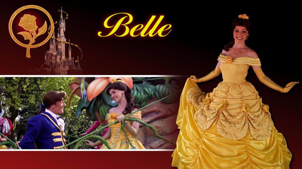 Disney Revisited 001 - Belle by bellesprince