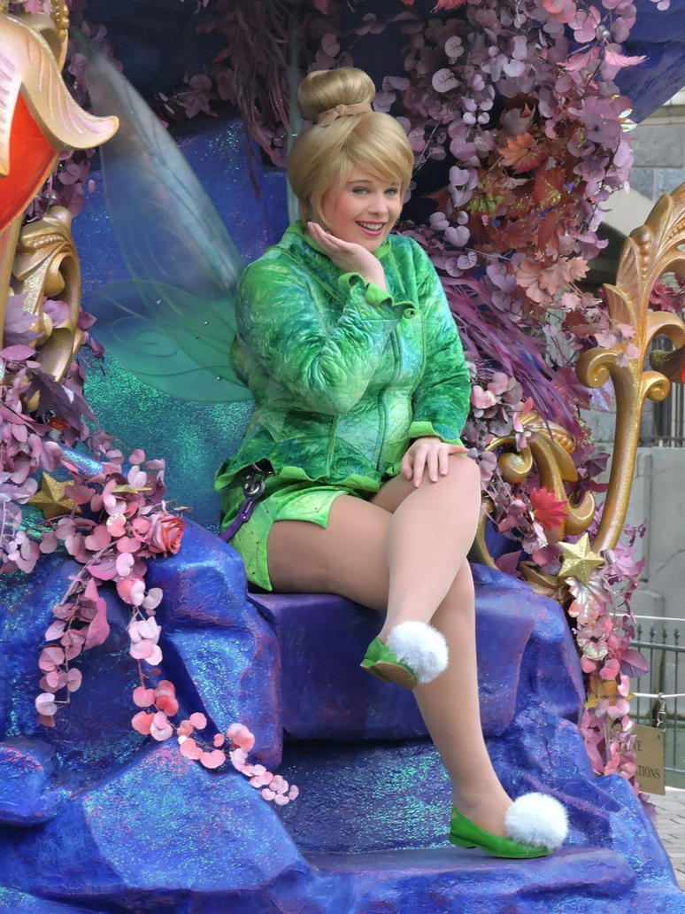 Tinker Bell Disneyland Paris by bellesprince