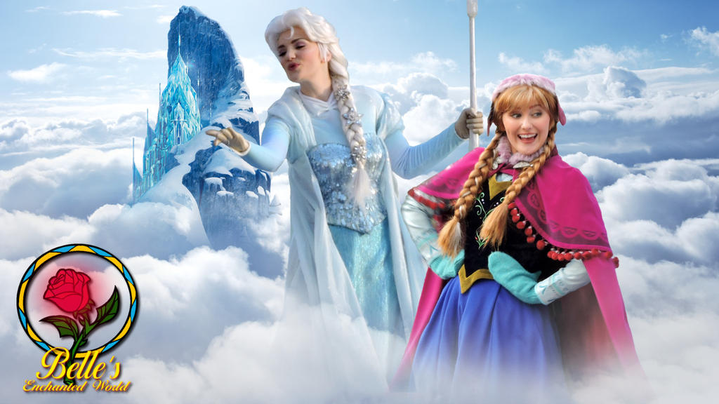 Wishing 2015 - Anna and Elsa by bellesprince