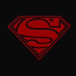 Dark superman logo by brian webbster on deviantart dark superman logo by brian webbster voltagebd Choice Image