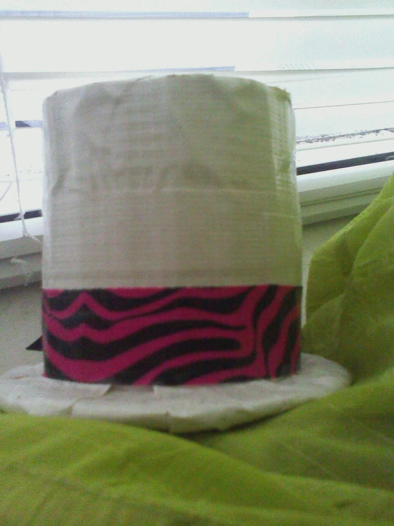 Mini duct tape top hat by scenepika on deviantart for Mini duct tape crafts