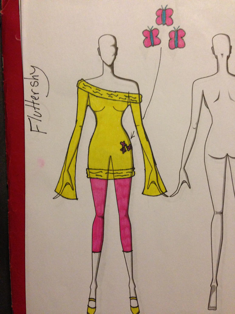 Fluttershy Outfit idea by ScenePika