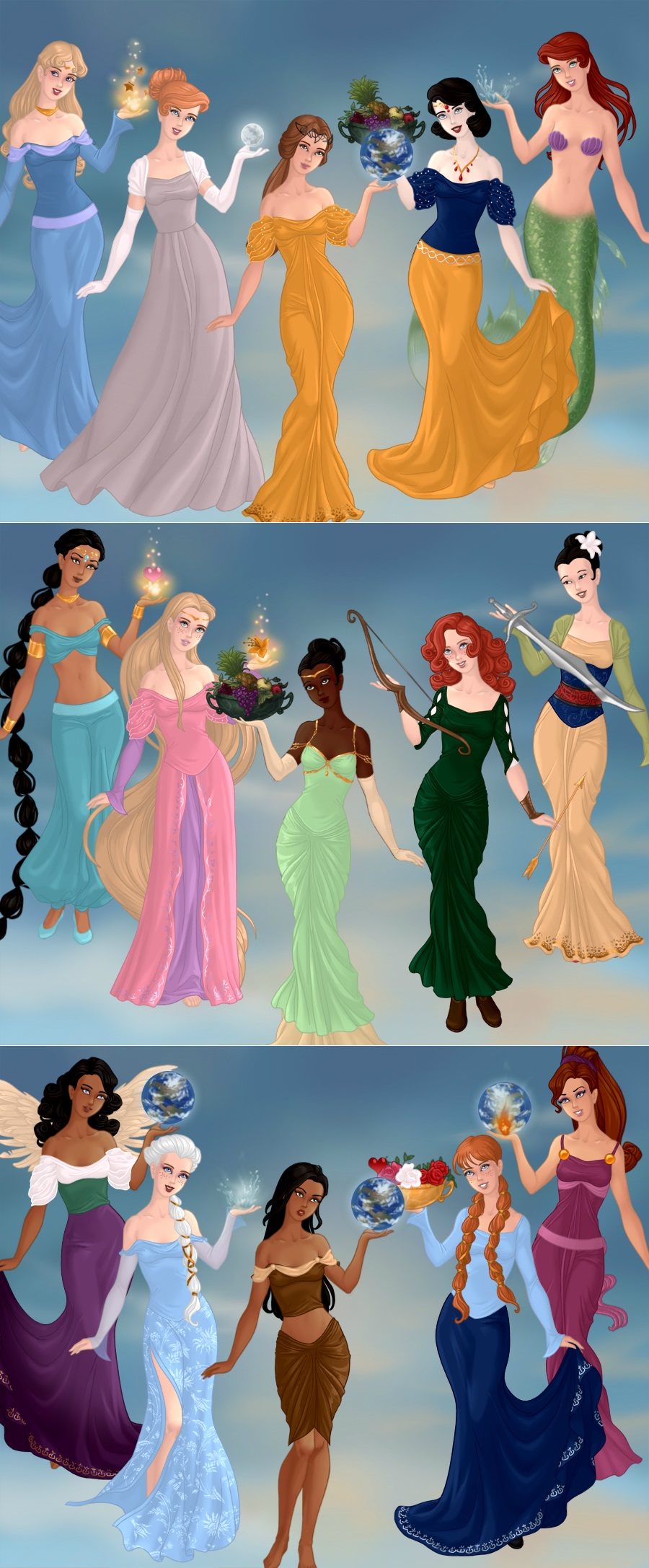 Top 10 Disney Heroines