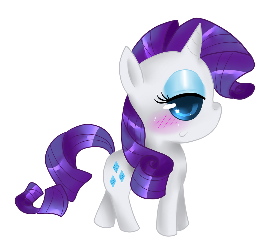 Chibi Rarity by That-Pony-Girl on DeviantArt