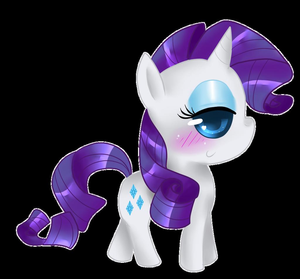 Chibi Rarity by That-Pony-Girl on DeviantArt